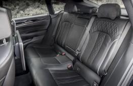 BMW 6 Series GT 640i xDrive, 2017, rear seats