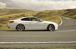 BMW 6 Series Coupe, side