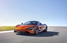 McLaren 720S, 2017, front, action