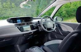 Citroen C4 Picasso Exclusive, interior