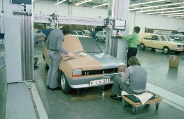 Ford Fiesta, 1974, clay model