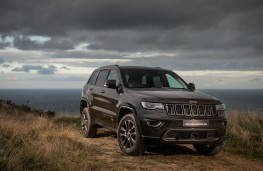 Jeep, Grand Cherokee, 75th anniversary limited edition, front