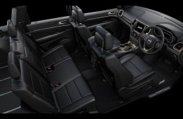 Jeep, Grand Cherokee, 75th anniversary limited edition, interior