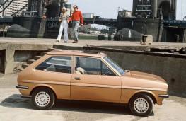 Ford Fiesta, 1976, side