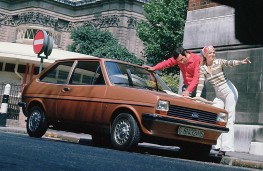 Ford Fiesta, 1976, front, launch image