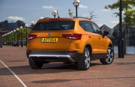SEAT Ateca, rear quarter