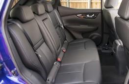 Nissan Qashqai, interior rear