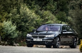 BMW 7 Series, 2016, action
