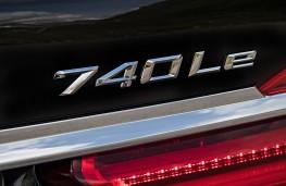 BMW 740Le, badge