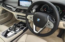 BMW 7 Series, dashboard