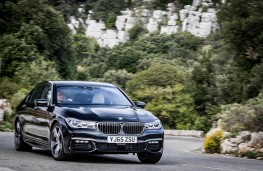 BMW 7 Series, 2016, front