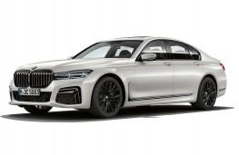 BMW 745e, 2019, front