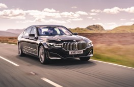 BMW 7 Series, 2019, front