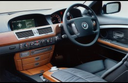 BMW 7 Series, interior