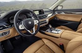BMW 7 Series, 2019, interior