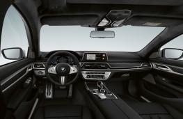 BMW 745e, 2019, interior