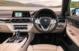 BMW 7 Series, 2019, interior