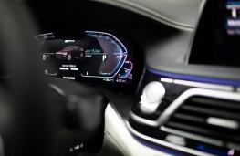 BMW 745e, 2019, instrument panel