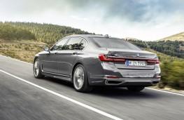 BMW 7 Series, 2019, rear