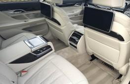 BMW 7 Series, 2019, interior, rear