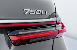 BMW 7 Series, 2019, rear lamps