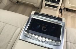 BMW 7 Series, rear touchscreen tablet
