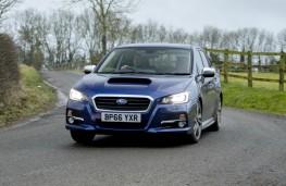 Subaru Levorg, dynamic 2