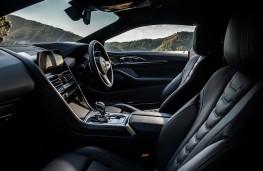 BMW 8 Series Coupe, 2018, interior