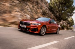 BMW 8 Series Coupe, 2018, front