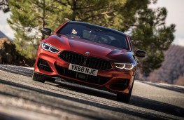 BMW 8 Series Coupe, 2018, nose