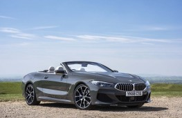 BMW 8 Series Convertible, 2019, front