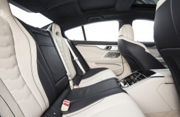 BMW 8 Series Gran Coupe, 2019, rear seats