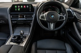 BMW 8 Series Coupe, 2018, dashboard