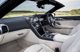 BMW 8 Series Convertible, 2019, interior