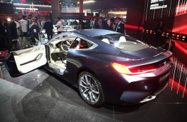 BMW 8 Series Coupe concept, 2017, interior