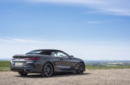 BMW 8 Series Convertible, 2019, rear