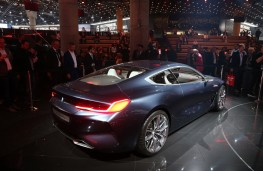 BMW 8 Series Coupe concept, 2017, rear
