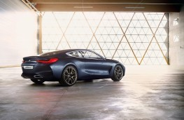 BMW 8 Series Coupe concept, 2017, rear, static