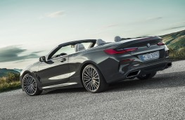 BMW 8 Series Convertible, 2019, rear, static