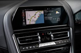 BMW 8 Series Coupe, 2018, display screen