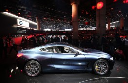 BMW 8 Series Coupe concept, 2017, side