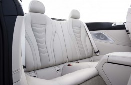 BMW 8 Series Convertible, 2019, rear seats