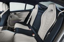 BMW 8 Series Gran Coupe, 2019, rear seats