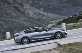 BMW 8 Series Gran Coupe, 2019, side