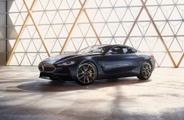 BMW 8 Series Coupe concept, 2017, side, static