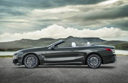 BMW 8 Series Convertible, 2019, side, static