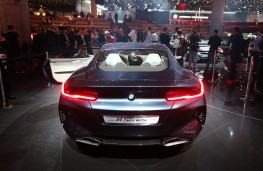 BMW 8 Series Coupe concept, 2017, tail