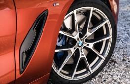 BMW 8 Series Coupe, 2018, brakes