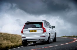 Volvo XC90 Recharge, 2021, rear