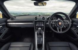 Porsche 718 Cayman, 2017, interior